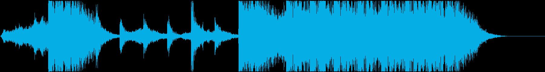 不思議系→打楽器♪予告編/トレーラーの再生済みの波形