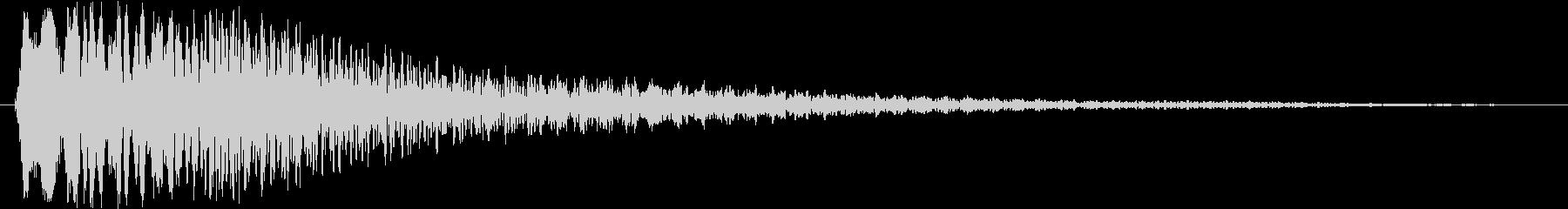 トゥルリローン(ハープ系)の未再生の波形