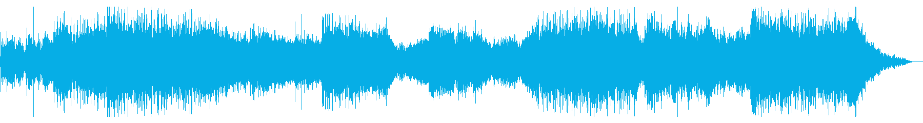 不気味でシネマティックなビートの再生済みの波形