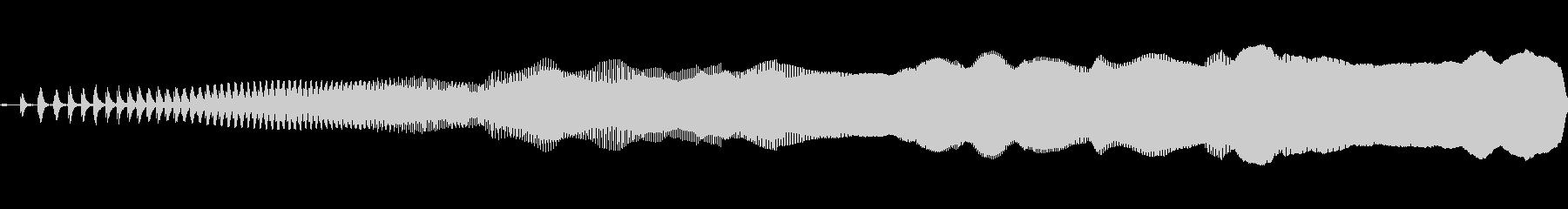 パルスフェイザー:ビルドアップ、S...の未再生の波形