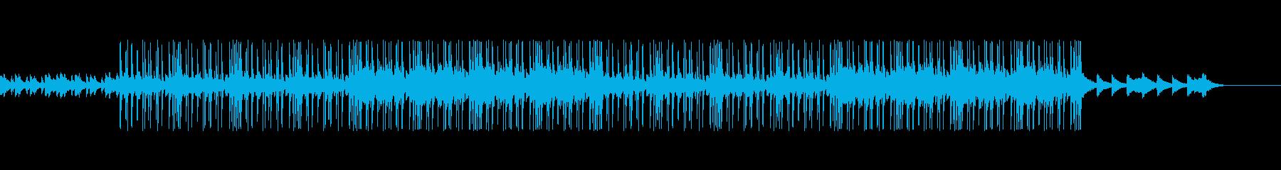 チルでエモいLO-FI HIPHOPの再生済みの波形