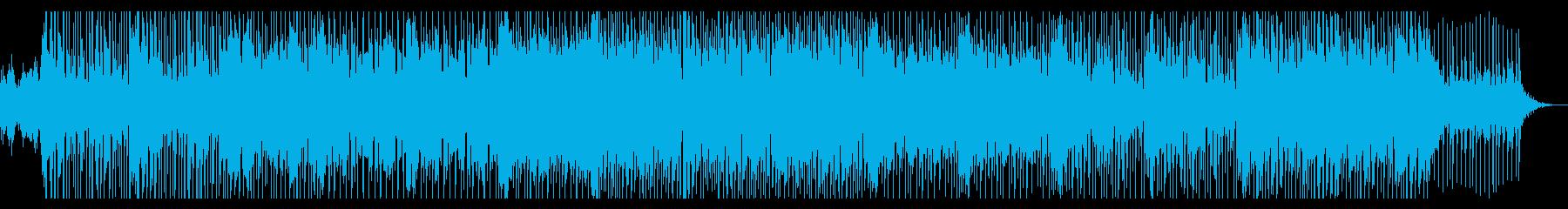 切なく激しい感情が印象的なロックの再生済みの波形