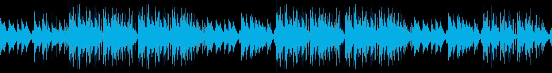 ピアノ・カフェ・お洒落・ジャズ・綺麗の再生済みの波形