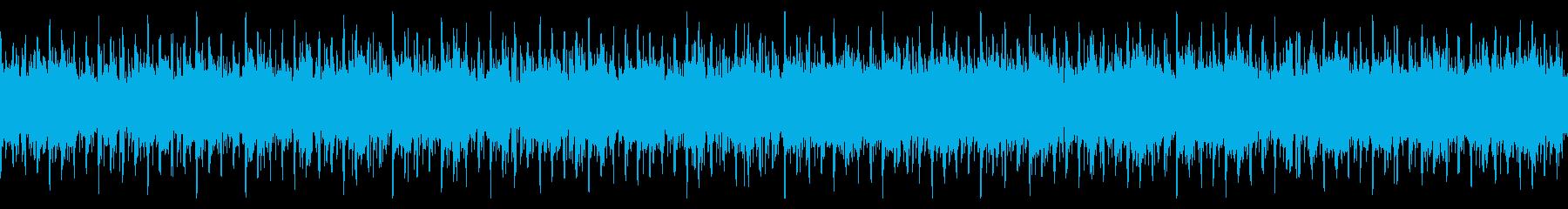 クリスタル!80年代気分のシンセウェーブの再生済みの波形