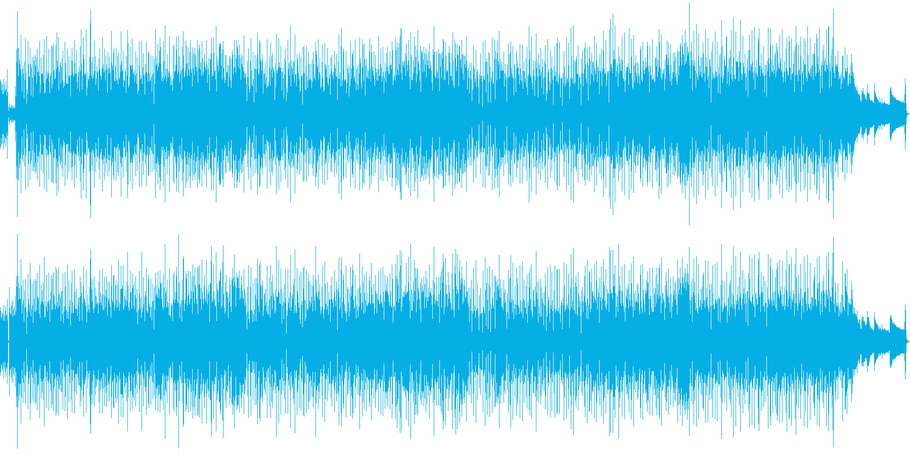 軽快なリズムが心地よいCMや映像のBG…の再生済みの波形