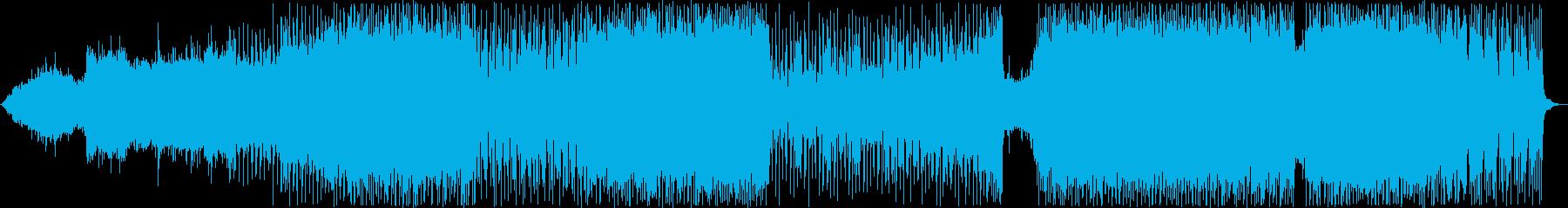 【メロ抜き】疾走感のあるダンスロックの再生済みの波形