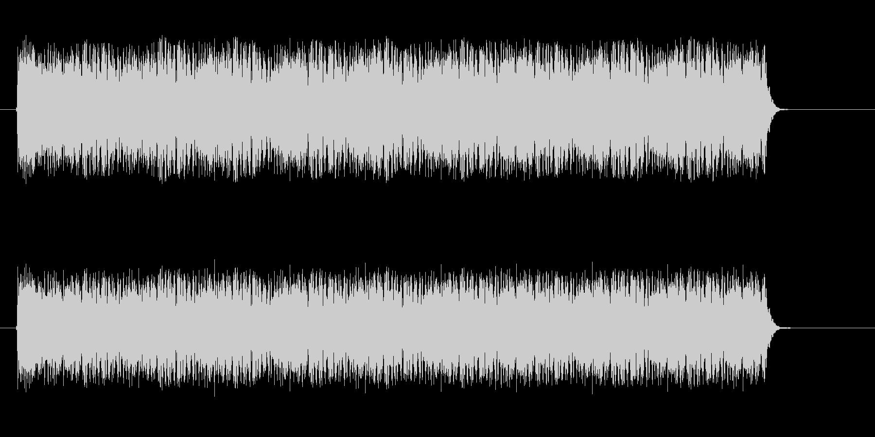 ダラララララというドラムロールの未再生の波形