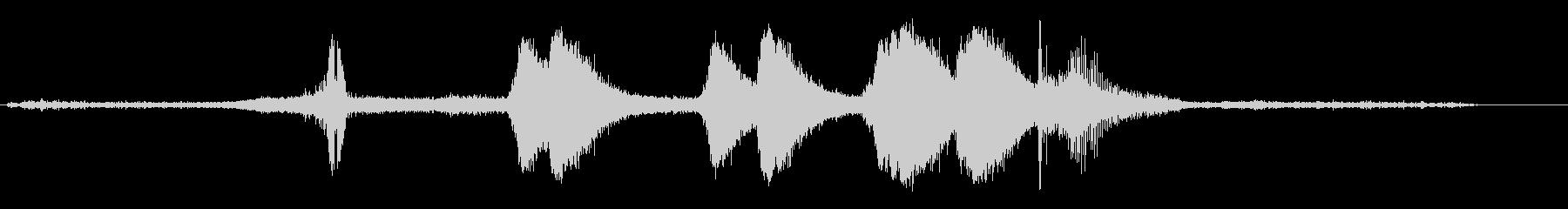 リンカーンタウンカー;中程度の速度...の未再生の波形