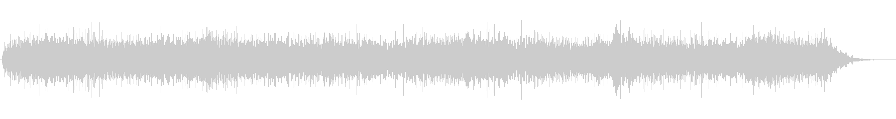 ドローン 低ノイズのリンギング01の未再生の波形