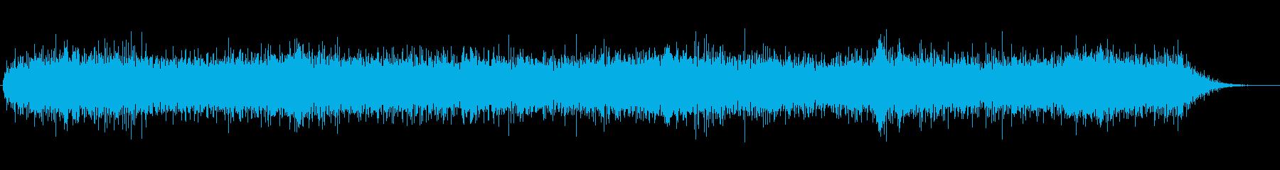 ドローン 低ノイズのリンギング01の再生済みの波形