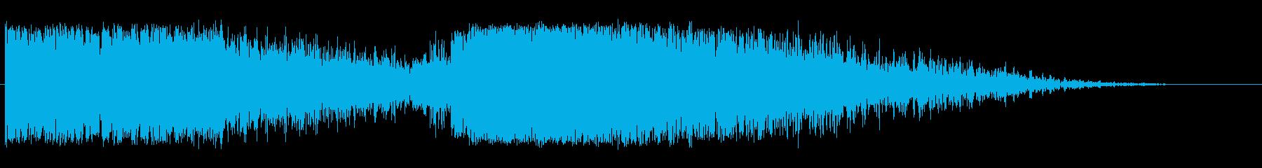 天体衝突1の再生済みの波形