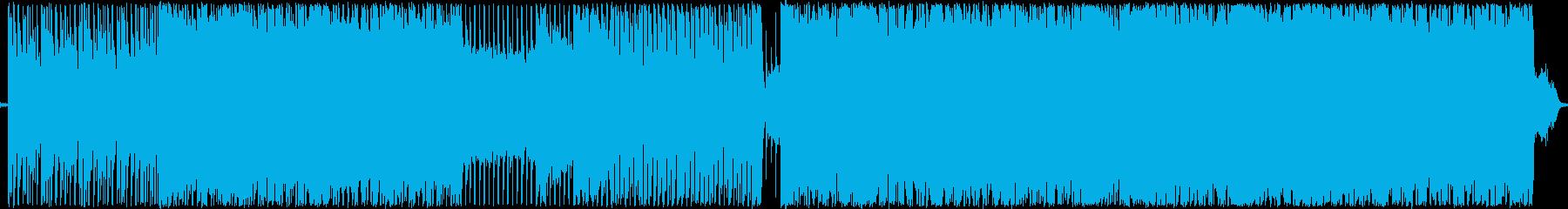ポップ アクション 技術的な ハイ...の再生済みの波形