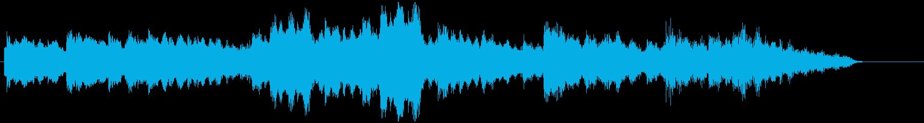 可愛らしいエレクトリックピアノの再生済みの波形