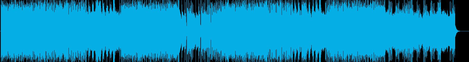 「HR/HM」「DEATH」BGM196の再生済みの波形