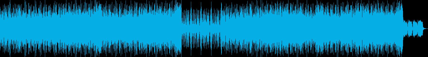 エンディング感あるお洒落バンドJpopの再生済みの波形