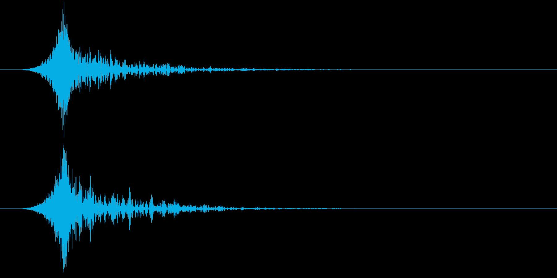 ヒューシュビッグエンディングエアト...の再生済みの波形