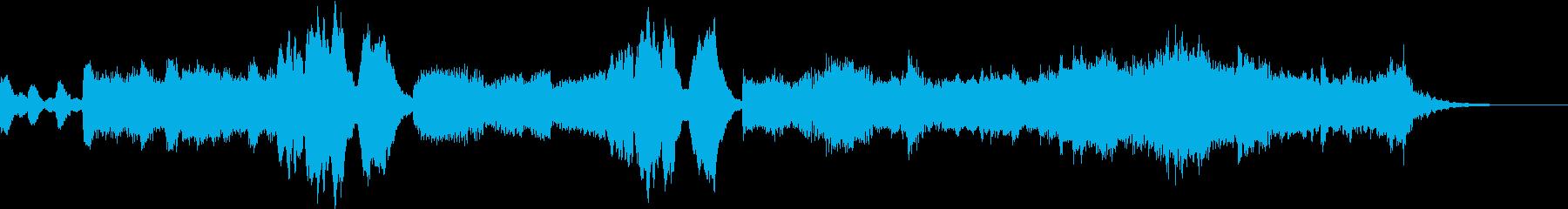 RPGのダンジョンで流れそうな曲の再生済みの波形