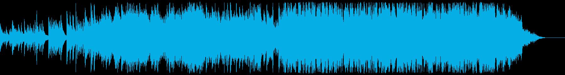 ソロのピアノと弦が他のオーケストラ...の再生済みの波形