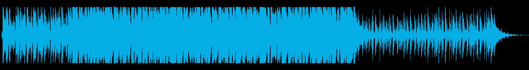 強力なリズムセクションを備えたラテ...の再生済みの波形