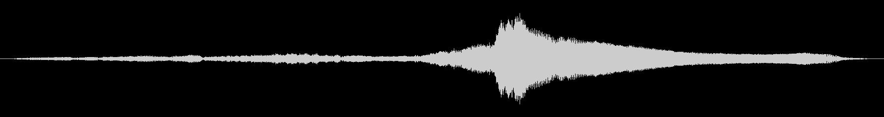 シビック-遠方で長いアプローチ、前...の未再生の波形