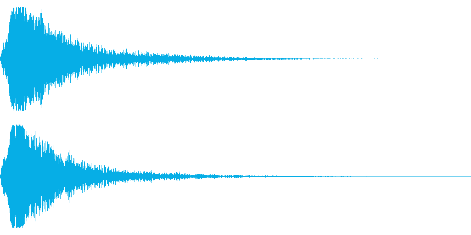 シャキーン キラーン☆強烈な輝きに!6vの再生済みの波形