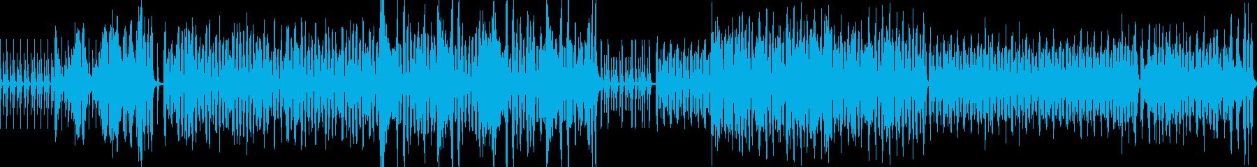 マーチ・明るい・元気・軽快・ポップの曲の再生済みの波形