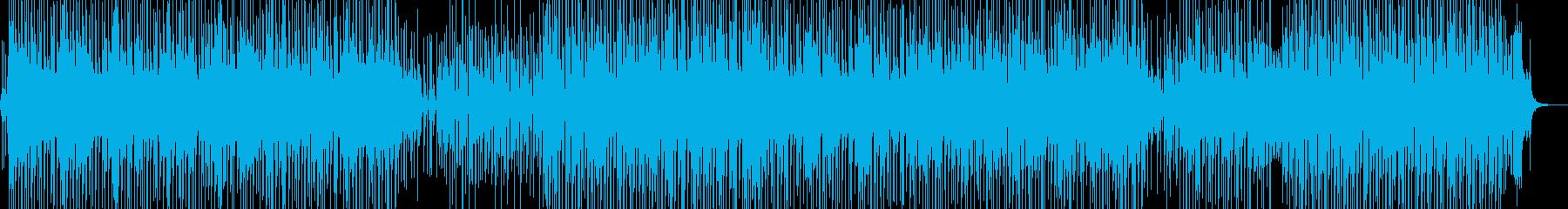 バカンスイメージのレゲェポップ Cの再生済みの波形