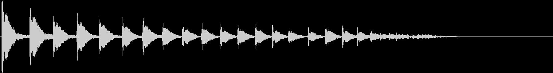 HIGH TOM:バウンスアクセン...の未再生の波形