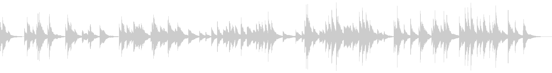スパースインストゥルメンテーション...の未再生の波形