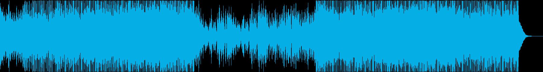 和風 シリアス 琴 和楽器 ダブステップの再生済みの波形