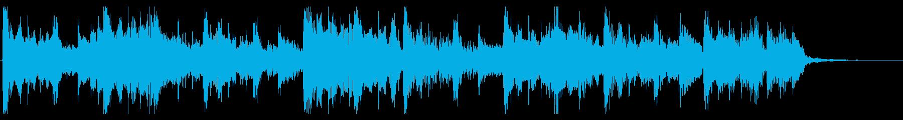 優しいR&B_No644_4の再生済みの波形