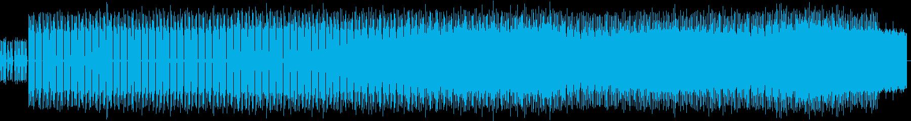 気怠くドライな質感のかっこいい曲の再生済みの波形