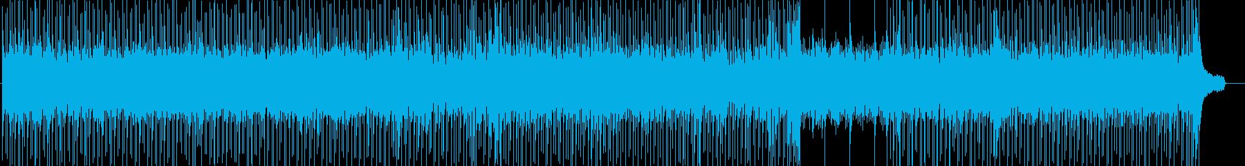 キラキラ12弦アルペジオのアコギロックの再生済みの波形