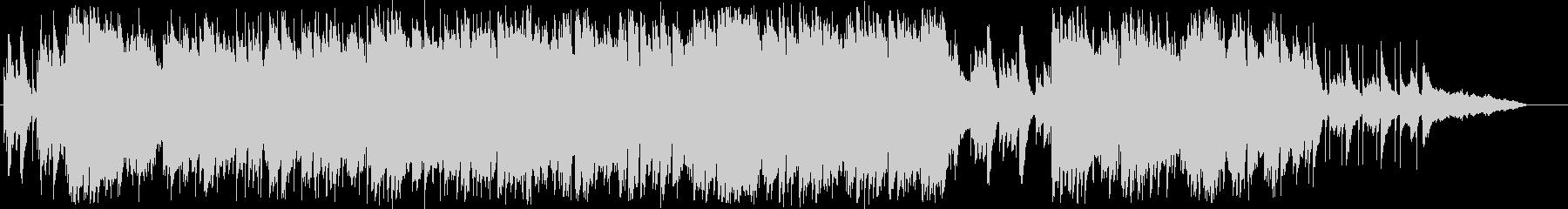 アップテンポ キラキラ系ジブリ風 ピアノの未再生の波形