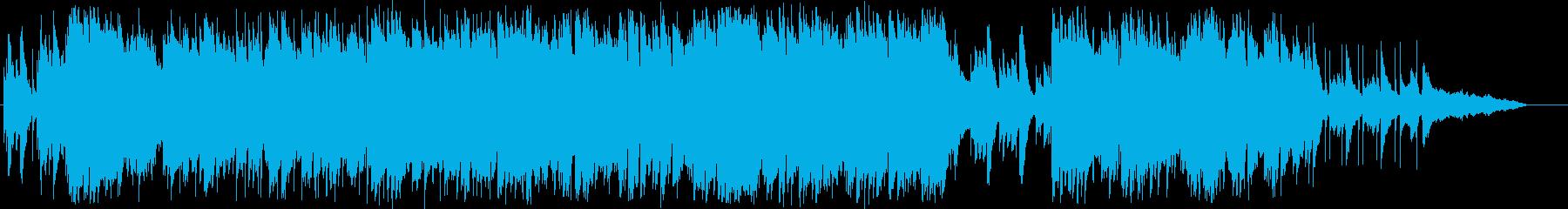 アップテンポ キラキラ系ジブリ風 ピアノの再生済みの波形