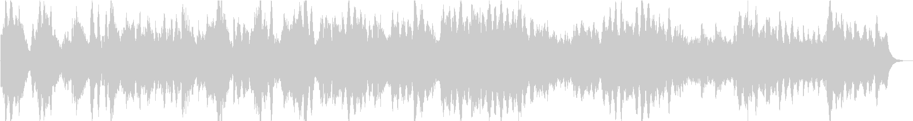 本物のアコースティックピアノと流れ...の未再生の波形