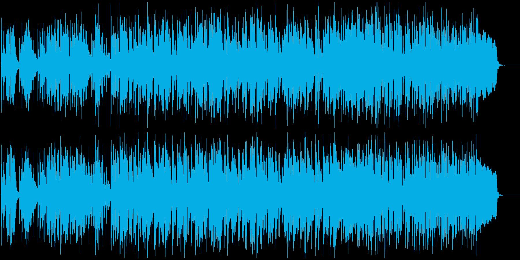 コメディ系のリコーダー曲、ゆるい、脱力の再生済みの波形