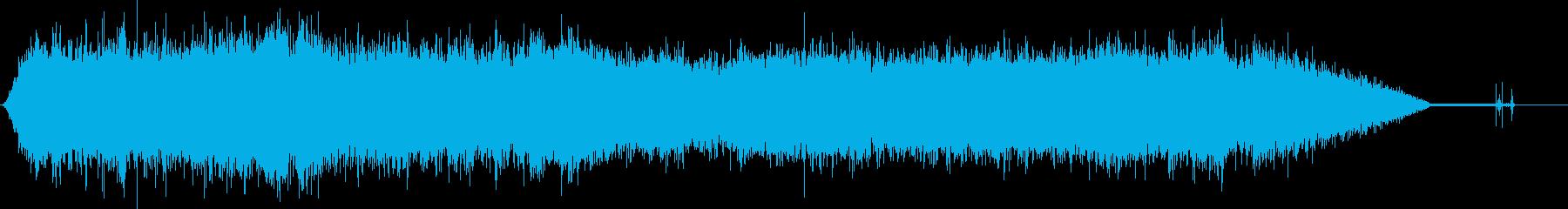100 Mph以上を運転する中型セ...の再生済みの波形