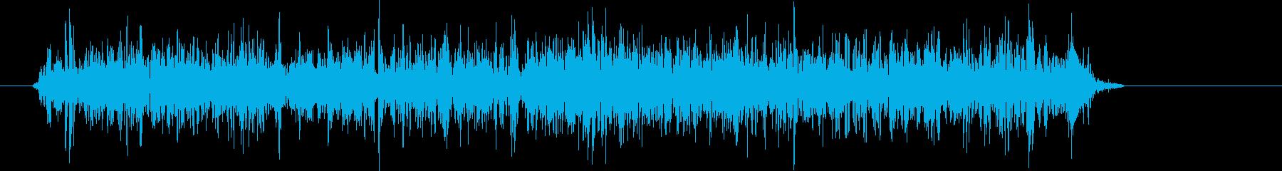 ボウリングボールロール効果:安定;...の再生済みの波形