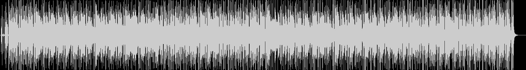 聴き馴染んだ曲をチャチャチャにの未再生の波形