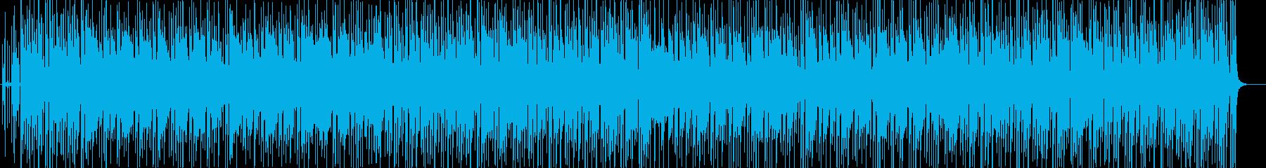 聴き馴染んだ曲をチャチャチャにの再生済みの波形