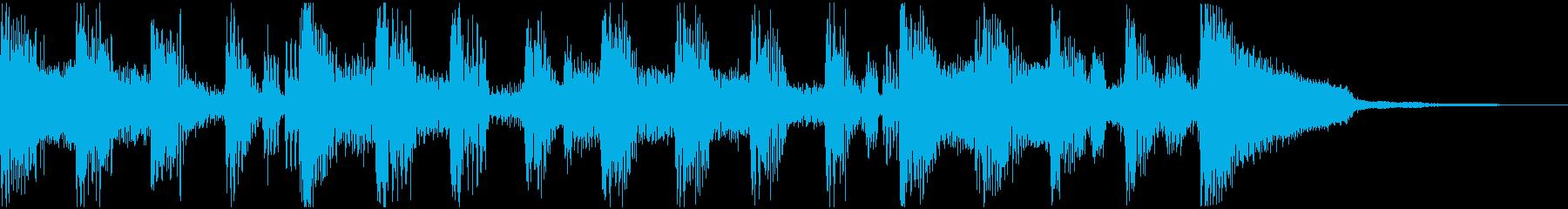 ギターハーモニクス、ロードピアノ、...の再生済みの波形