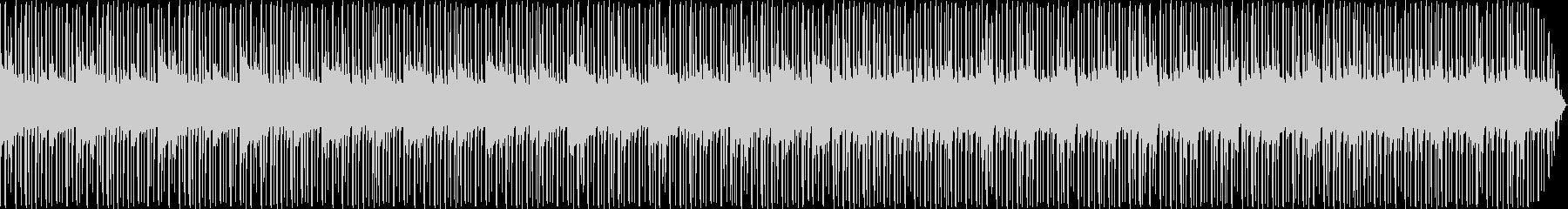 Jazz/NeoSoul系の生楽器BGMの未再生の波形
