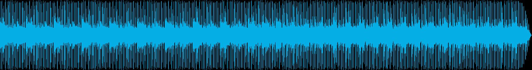 Jazz/NeoSoul系の生楽器BGMの再生済みの波形