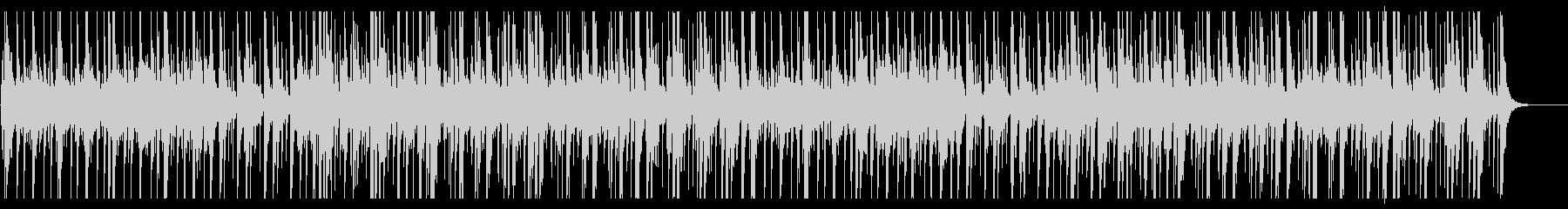 アップテンポな威勢の良い和太鼓のリズムの未再生の波形