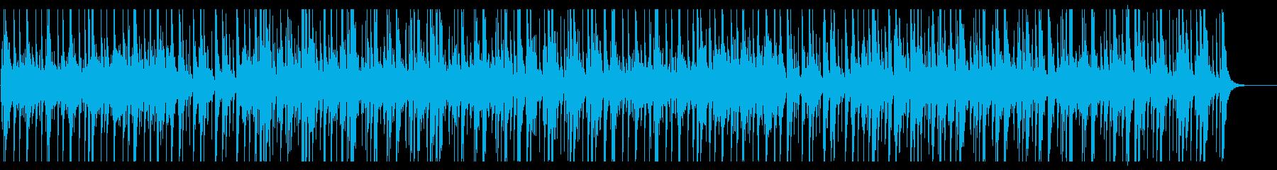 アップテンポな威勢の良い和太鼓のリズムの再生済みの波形