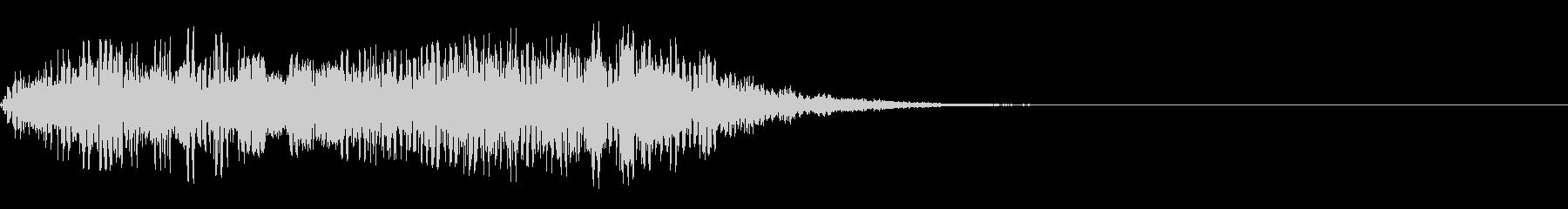 シューッという音EC07_92_2の未再生の波形