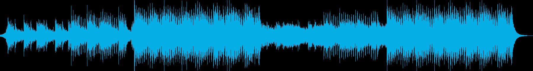 疾走感・希望・前向き・CM・オープニングの再生済みの波形