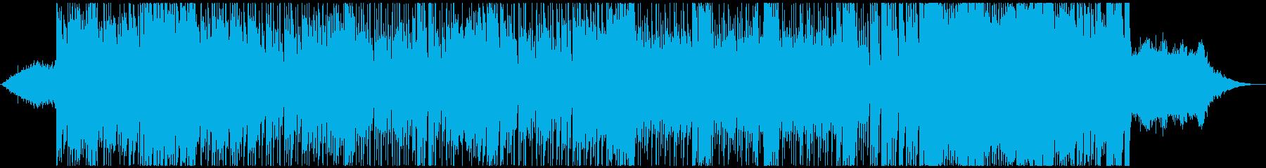 パスタロックの再生済みの波形