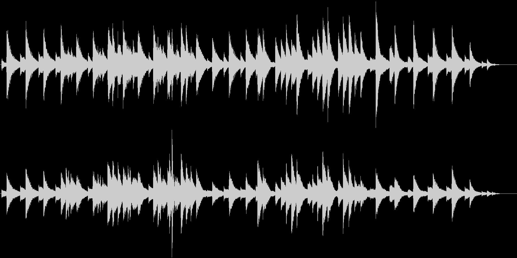 サティのジムノペディ風 切ないピアノソロの未再生の波形